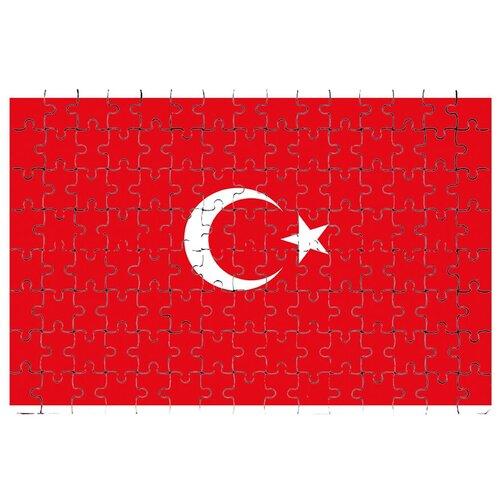 Магнитный пазл Флаг Турции