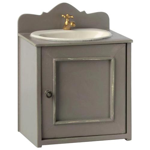Раковина Maileg Miniature Bathroom Sink серый
