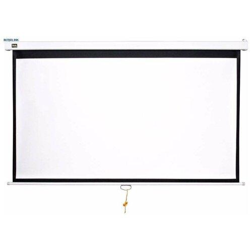 Фото - Sakura Cinema Wallscreen 183x183 MW (SCPSW-183X183) Бюджетный настенно-потолочный проекционный экран, 1:1, размер 183*183 см - 259/102, полотно белое матовое отражающее 189*189 см - 267/105, кайма 3 см, белый экран sakura cinema s ok 183x183cm 1 1 scpsm 183x183 gr