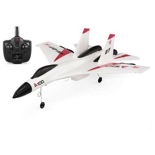 Радиоуправляемый самолет XK Innovation RTF 2.4G WL Toys A100-SU27 радиоуправляемый самолет xk innovation x520 w rtf 2 4g x520 w