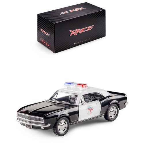 Купить Детская инерционная металлическая машинка Serinity Toys с открывающимися дверями, модель Chevrolet Camaro Z/28 Полиция, Машинки и техника