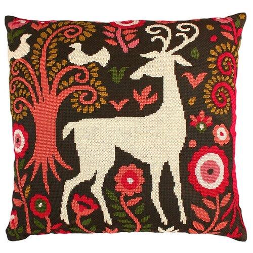 Набор для вышивания подушки РТО Сказочный лес, 40 х 40 см. CU002 набор для вышивания подушки collection d art 40 х 40 см 5018