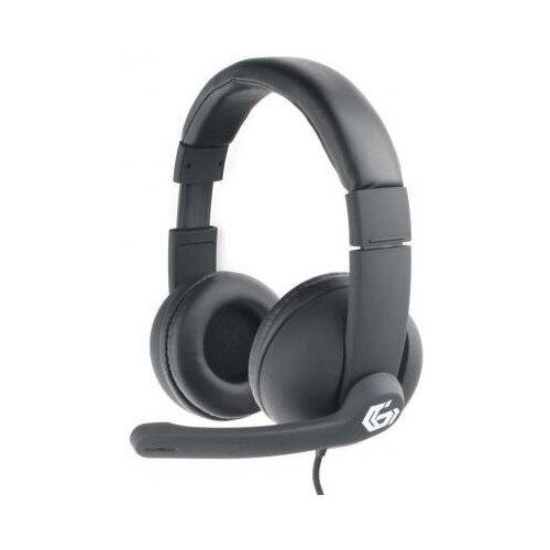 Gembird Игровая гарнитура проводная Gembird MHS-G220 черный