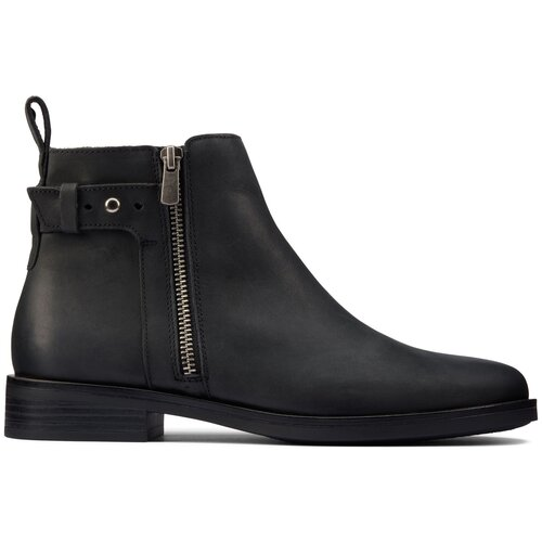 Ботинки Clarks , размер 37 , black leather туфли clarks clarks cl567ambuup3