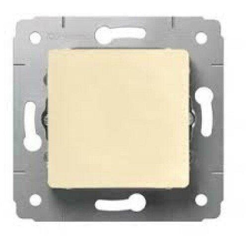 Выключатели скрытой установки Legrand Механизм выключателя 1-кл. СП Cariva 10А IP20 250В авт. клеммы сл. кость Leg 773756
