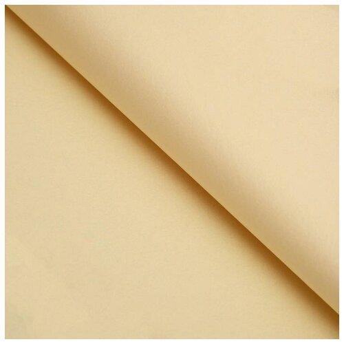 Бумага упаковочная тишью, бежевый, 50 см х 66 см, набор 10 шт. 7059623
