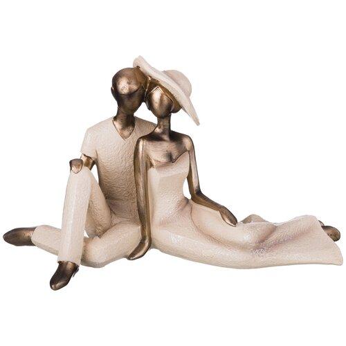 Фото - Статуэтка влюбленные Lefard серия Фьюжн 28,5*13*17,5 см (162-357) статуэтка lefard йога серия фьюжн 13 5х7х18 5 см 162 700