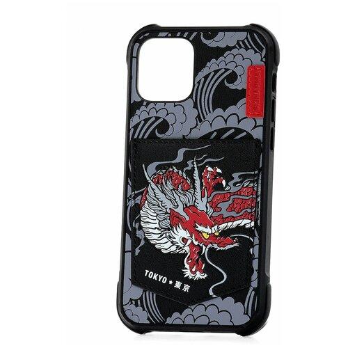 Чехол для Apple iPhone 12 Skinarma Densetsu Dragon / Чехол бампер на iPhone / накладка на iPhone / защитный чехол на айфон / защитный чехол / защитный бампер для iPhone / накладка для айфона / противоударный бампер для телефона / чехол на телефон / противоударный чехол для iPhone / бампер айфон / чехол на айфон / защитный чехол / защитный бампер для iPhone / накладка для айфона / противоударный бампер для телефона / чехол на телефон чехол