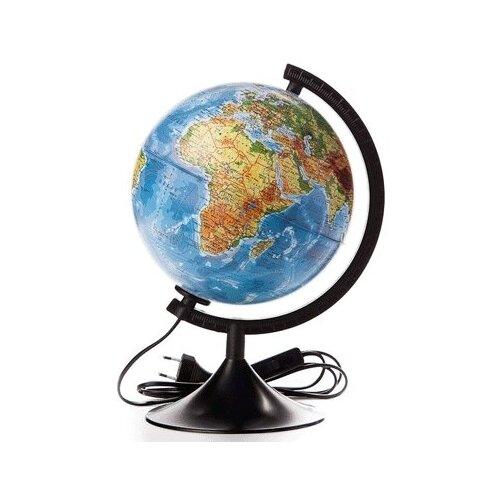 Фото - Глобус Земли физический 150мм с подсветкой Классик Евро. Арт. Ке011500199 globen глобус земли globen физический с подсветкой 150 мм