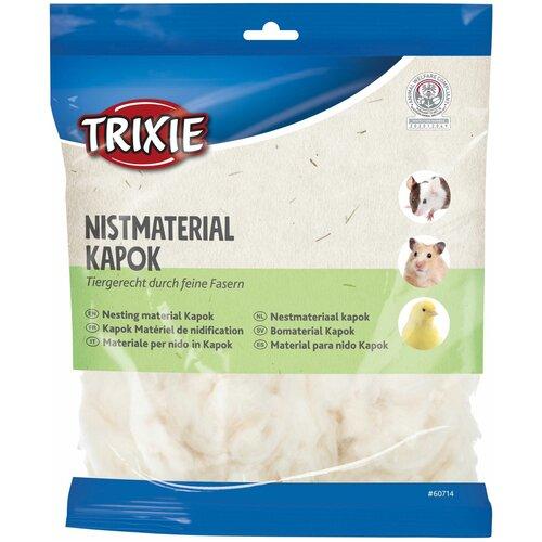 Материал для гнезд, капок, 100 г, кремовый, Trixie (товары для животных, 60714)