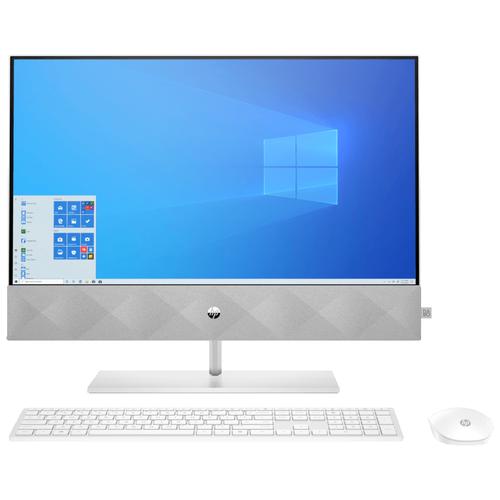 Фото - Моноблок HP 24-k0036ur AMD Ryzen 3 4300U/8 ГБ/SSD/AMD Radeon Graphics/23.8/1920x1080/Windows 10 Home 64 ноутбук hp pavilion 15 eh0002ur amd ryzen 3 4300u 2700mhz 15 6 1920x1080 4gb 256gb ssd amd radeon graphics windows 10 home 281a1ea естественный серебристый
