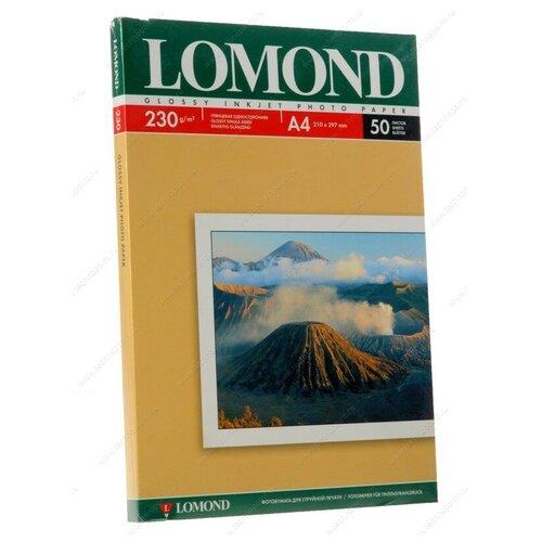 Фото - Фотобумага Lomond A4 230g/m2 глянцевая одностороняя 102022 фотобумага lomond a3 230g m2 глянцевая односторонняя 50 лист