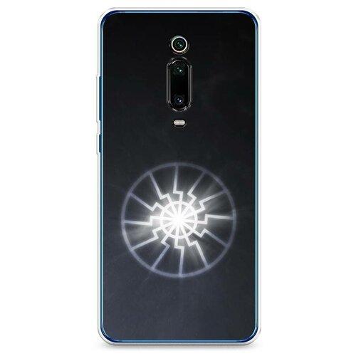 Чехол Силиконовый Xiaomi Mi 9T Черное солнце