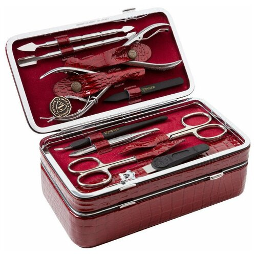 Фото - Маникюрный набор с косметичкой Zinger MS 1205-804 S, 10 предметов маникюрный набор с косметичкой zinger ms 1205 804 s 10 предметов