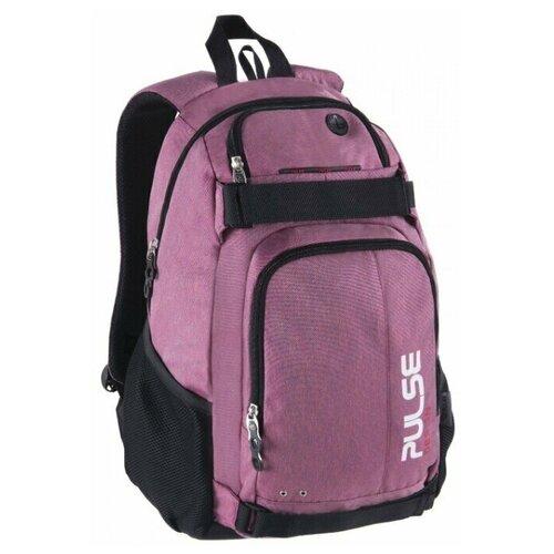 Рюкзак PULSE SCATE PINK-BLUE, 48х36х23см pulse рюкзак pulse scate black dot