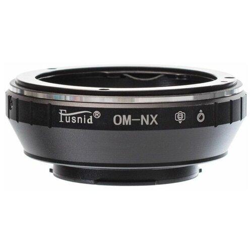 Фото - Переходное кольцо FUSNID с байонета Olympus OM на Samsung NX (OM-NX) переходное кольцо dofa с байонета pk на micro 4 3 pk m43