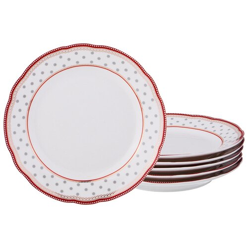 Набор десертных тарелок Lefard из 6-ти шт. d = 20 см (275-965)