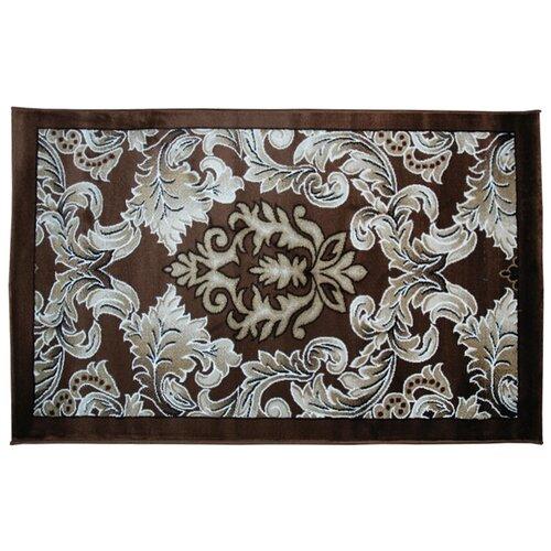 Ковер цвет коричневый 100 x 150 арт. УКВ-0600