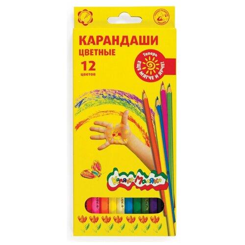Карандаши цветные 12цв Каляка-Маляка шестигранные, ККМ12 3 шт.