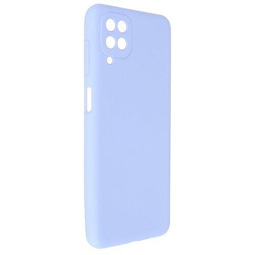 Чехол Pero для Samsung Galaxy A12 Liquid Silicone Light Blue PCLS-0044-LB