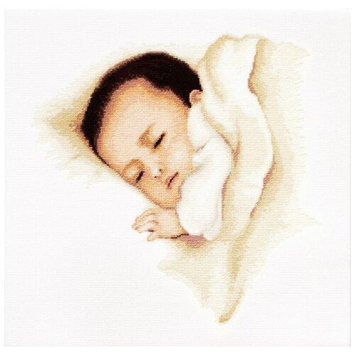 Фото - Набор для вышивания,Сладкий сон, Luca-S 24,5 x 24,5 см ( B384 ) набор для вышивания улитка luca s 9 5 x 5 см b005