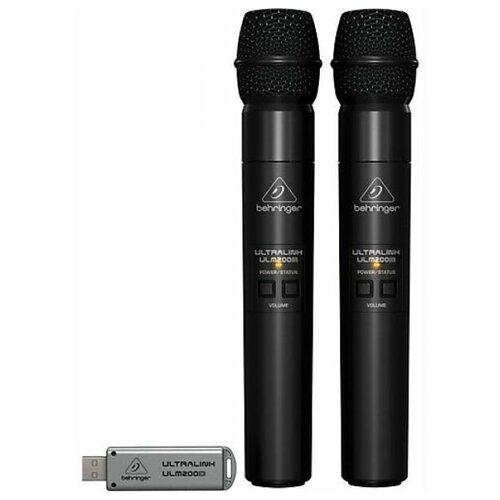 Комплект беспроводных микрофонов BEHRINGER ULM202-USB