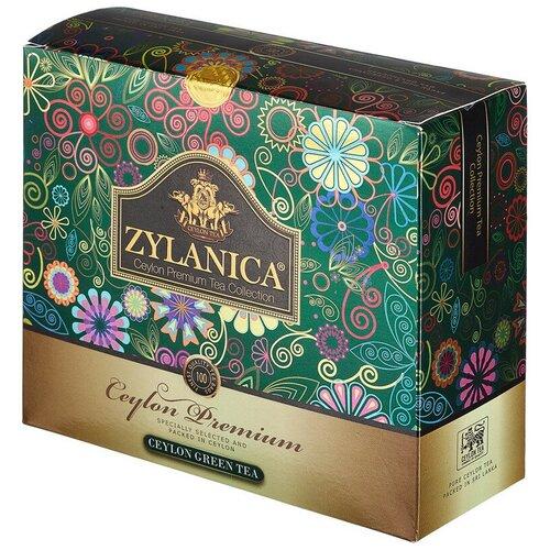 Чай Zylanica Ceylon Premium Collection зел. 100 пакx2гр/уп