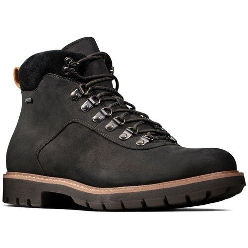 Ботинки Clarks , размер 41 , Black Nubuck туфли clarks clarks cl567ambuup3