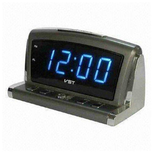 Часы-Будильник Настольные Vst 718-5 Синий