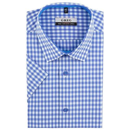 Рубашка GREG голубой