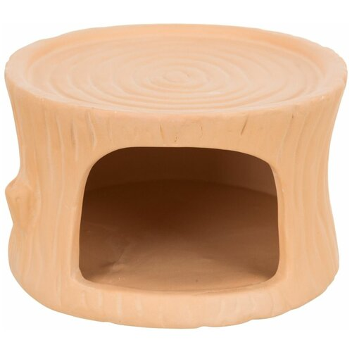 Домик для мышей и хомяков, керамика, 11 x 6 x 10 см, терракотовый, Trixie (домик для животных, 61374)