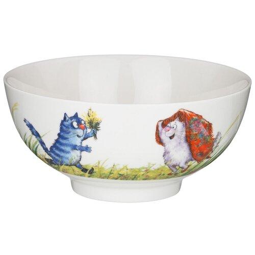 Салатник - тарелка суповая Lefard русское поле 15*7 см Lefard 104-708