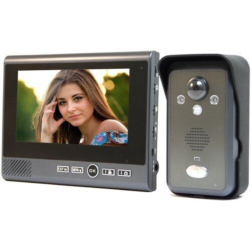 Видеодомофон Настольный REC KiVOS 7 (1плюс1) - домофон wifi, беспроводной домофон для дома - домофон в квартиру