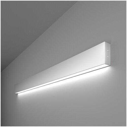 Линейный светодиодный накладной односторонний светильник 103см 20Вт 6500К серебряный Elektrostandard Pro Линейный светодиодный накладной односторонний светильник 103см 20W 6500K матовое серебро (101-100-30-103)