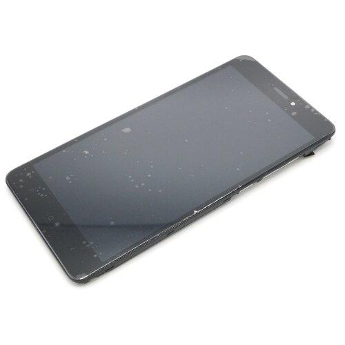 Дисплей с рамкой для Xiaomi Redmi Note 4X/Note 4 Global Version (черный)