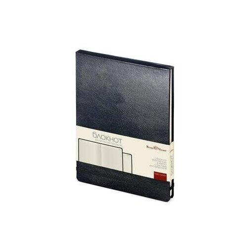 Купить Блокнот Bruno Visconti Megapolis Reporter А5 100 листов черный в клетку на сшивке (144x212 мм) (артикул производителя 3-103/02) 1 шт., Ежедневники