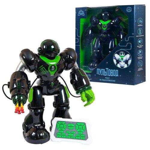 Купить Робот на радиоуправлении JUNFA Пультовод свет, звук, движение, с русским озвучанием, в коробке, 42х41х15 см, ZY818335, Junfa toys, Развивающие игрушки