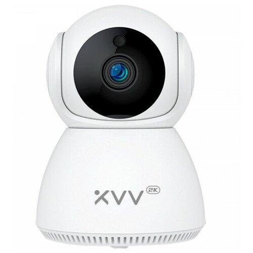 Xiaomi IP-камера Xiaovv Smart Wifi PTZ Camera 2K (белый) ip камера xiaomi xiaovv smart panoramic ip camera 1080p xvv 1120s a1 white
