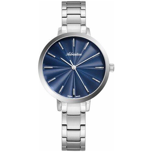 Швейцарские часы наручные женские Adriatica A3740.5115Q часы наручные швейцарские женские adriatica a3188 1111q