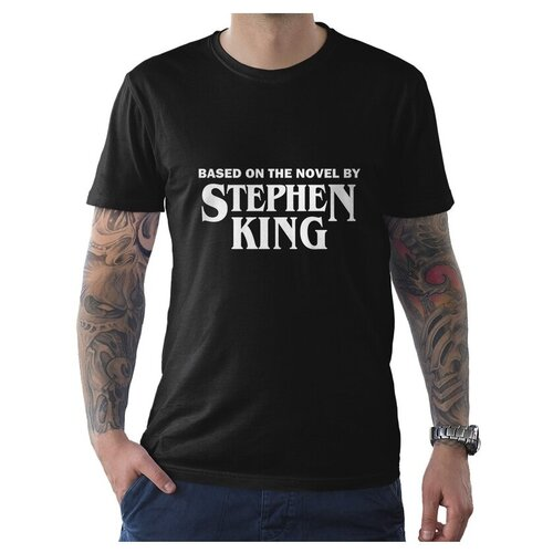 Футболка DREAM SHIRTS По Мотивам Книг Стивена Кинга размер S, черный