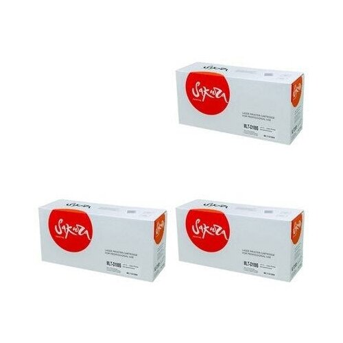 Sakura SAMLTD109S-3PK Картриджи комплектом MLT-D109S черный 3 упаковки, совместимый [выгода 3%] Black 6K для SCX-4300, SCX-4310, SCX-4315
