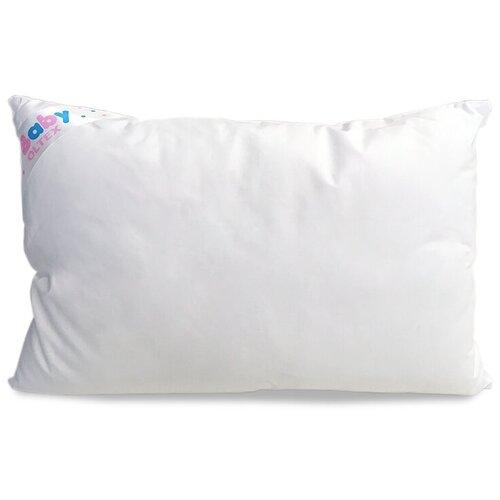 Подушка детская OL-TEX Baby 40x60 белая /для малыша под голову / для ребенка