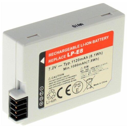 Аккумуляторная батарея iBatt 1120mAh для Canon EF-S, EOS Rebel T3i, Rebel T2i, EOS Kiss X4, EOS Rebel T2i, EOS Rebel T4i, EOS Rebel T5i, EOS Kiss X5