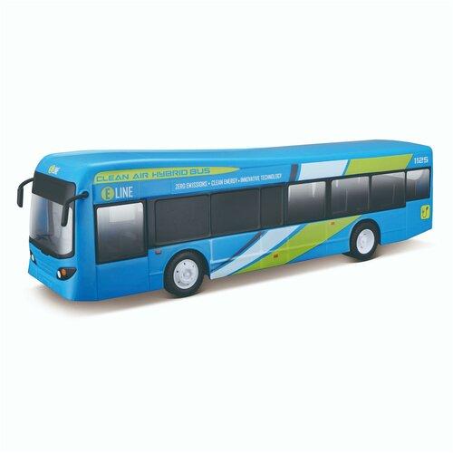 Maisto Городской автобус AUTOBUS MIEJSKI на радиоуправлении, голубой