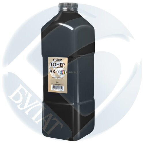 Тонер BULAT s-Line для Sharp AR-5316, AR-5015/5020/5120/5220/5316/5320 (AR-016T) (537 г/банка)
