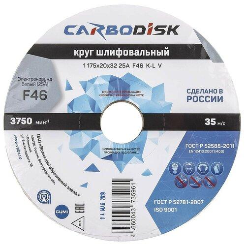 Шлифовальный круг Волжский абразивный завод 175x20x32 64С Р46 8953394