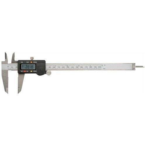 Цифровой штангенциркуль TOPEX 31C625 200 мм, 0.01 мм