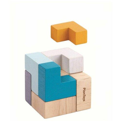Фото - Мини-игра Plan Toys 3D пазл-куб игра plan toys волчки 4132