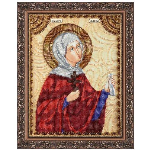 Купить Набор для вышивания бисером АБРИС АРТ AА-115 Св.Фаина 23х30 см, ABRIS ART, Наборы для вышивания