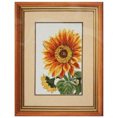 Купить Hobby & Pro Набор для вышивания Цветок солнца 16 х 27 см (773), Наборы для вышивания